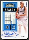 Dirk Nowitzki Autographs Cards and Photos for Panini 15