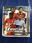 2020-21 Topps Finest UEFA Champions League Soccer Hobby Box Factory Sealed