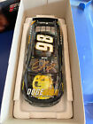 Very Rare Collectible Nascar Dogecoin Die cast JOSH WISE Autographed
