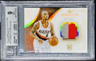 Damian Lillard 2012-13 Immaculate Collection Rookie Patch 100 RC BGS 9 POP 4