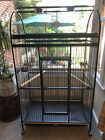 X Large Parrot Cage with Play Top VGC