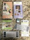 Cricut Cartridges Fonts Banners Dogs Words Lot of 4 Used Free Shipping