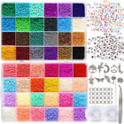 35000pcs 2mm 12 0 Glass Seed Beads for Jewelry Making Supplies Kit Small Bead Cr