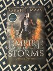 Empire of Storms BN Excl Fan Art Sarah J Maas 1 1 Throne of Glass Barnes Noble