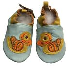 Leather Baby Moccasins Duck Booties Bella Bella New 12 18 Months NWT Flex Shoes
