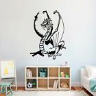 Proud Dragon 0284  Wall art Decal Sticker Transfer 5 Sizes 32 Colours
