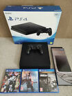 PS4 Slim with Vertical stand and games