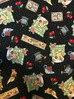 Mary Engelbreit Fabric Cranston 4 1 2 YARDS of 44 Home Sweet Home