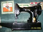 Singer Featherweight 221 1 Sewing Machine with Case  Accessories