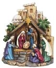 8 LED Nativity Scene with Lighted Star by Roman Inc 34468