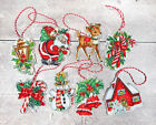 Christmas Toys Counted Cross stitch kit Leti 966 Letistitch Set of 8 designs