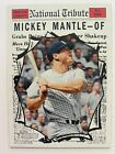 2011 National Convention Promo - Topps Heritage MICKEY MANTLE #591, Yankees