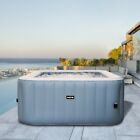 Wave Luxury Inflatable Hot Tub Pool Spa Massage Outdoor Jacuzzi 2 4 Person