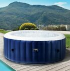 Wave Luxury Inflatable Hot Tub Pool Spa Massage Outdoor Jacuzzi 4 6 Person