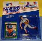 1989 ROGER CLEMENS Boston Red Sox * FREE s/h * Starting Lineup HOF?