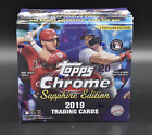 2019 TOPPS CHROME SAPPHIRE FACTORY SEALED BOX FROM SEALED CASE! - TATIS ROOKIE?