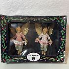 Euromarchi Nativity SET 2 Angels Made In Italy New In Box