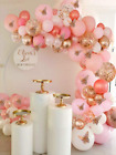 150pcs Rose Gold Pink Butterfly Balloon Garland Arch Kit Theme Baby Shower Birth