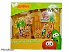 New Veggie Tales Wooden Nativity Set Play And Display Toy Christmas NEW Age 3+