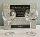 WATERFORD Millennium 2 WATER GOBLET All 5 Universal Toast Glasses Balloon IN BOX
