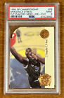 1994 SP Championship Shaquille ONeal Future Playoff Heroes Die Cut PSA 9