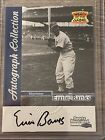 ERNIE BANKS Auto Autograph! 1999 FLEER SPORTS ILLUSTRATED Greats of The Game