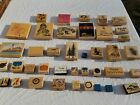 Stamp Lot of 40 Rubber Stamps All Shapes Sizes and Themes Great for Crafts