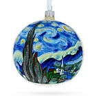 1880 The Starry Night Painting by Vincent van Gogh Glass Ball Christmas