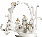 Collections Etc Lighted Joy Nativity Christmas Scene Holiday Indoor Sculpture