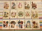 VTG 80s BONNIE BONNETS ANNELIESE HAPPY DAYS STICKERS CUTE GIRLS MADE IN SPAIN
