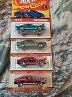 Hotwheels Classics Series 1 19 25 Ford Mustang Lot Of 4
