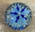 Hand Blown Large Glass Ocean Fish Paperweight Beautiful Jellyfish Dolphins
