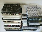Quilting Fabric Lot Black White Prints Cotton Whole and Half Yards