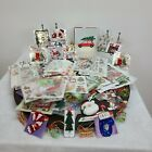 Scrapbook Christmas Stickers Mixed Lot Cards Stickers Rub On Craft Art Memory