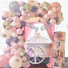 165 pc Baby Shower Decorations for Girl Birthday Girl Balloon Garland Arch