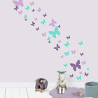 Butterfly Wall Decals Beautiful Girls Wall Stickers Wall Art Vinyl Stickers for
