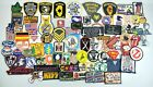 Lot Of 80+ Embroidered Patches Sew Iron On Harley Police Military Bands