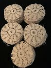 Lot of 90 Vintage Crocheted Lace Doilies To Make A Table Cloth Crafts Bedspread