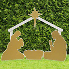 Outdoor Nativity Set Outdoor Nativity Store Holy Family Standard Gold