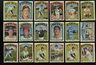 1972 Topps High Number Series 6 You Pick Complete Your Set Many NrMt