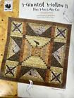 Red Rooster Fabrics Quilt Kit HAUNTED HOLLOW II 40 Square Bats Hats Alley Cats