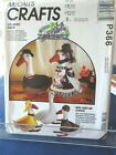 VINTAGE MCCALLS SEWING PATTERN P366 FOR LAWN GEESE  CLOTHES UNCUT 1992
