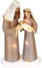 65 ft Tall Airblown Inflatable Christmas Nativity Scene Holiday Decoration NEW