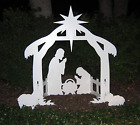 Outdoor Nativity Set  Weatherproof Outdoor Nativity Scene for Yards and Lawns