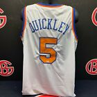 Immanuel Quickley New York Knicks Signed White Jersey Autographed Steiner