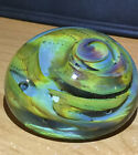 Vintage Early Salamandra Studio Art Glass Paperweight Signed and Dated 1976
