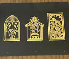 Anna Griffin Mini Nativity Cut and Emboss Dies NEW