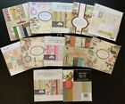 NEW Lot Of 12 6x6 PAPER PADS 360+ Sheets FARM HOUSE Little Yellow Scrapbooking