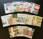 NEW Lot Of 12 6x6 PAPER PADS 380 Sheets Christmas Lily Bee Scrapbooking HTF