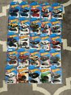 Hot Whees Treasure Hunt Lot Of 25 Red Editions Factory 500 Ford Nissan BMW